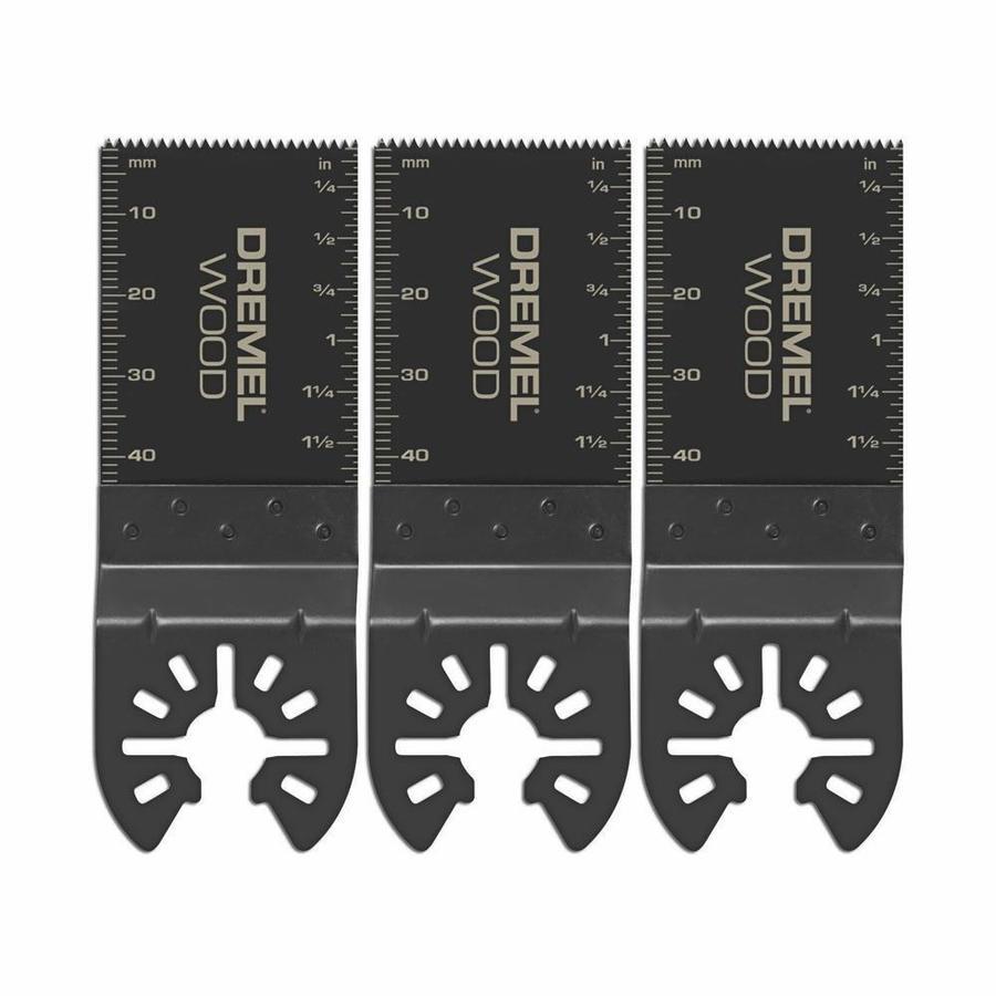 Dremel 3-Pack High Carbon Steel Oscillating Tool Blades