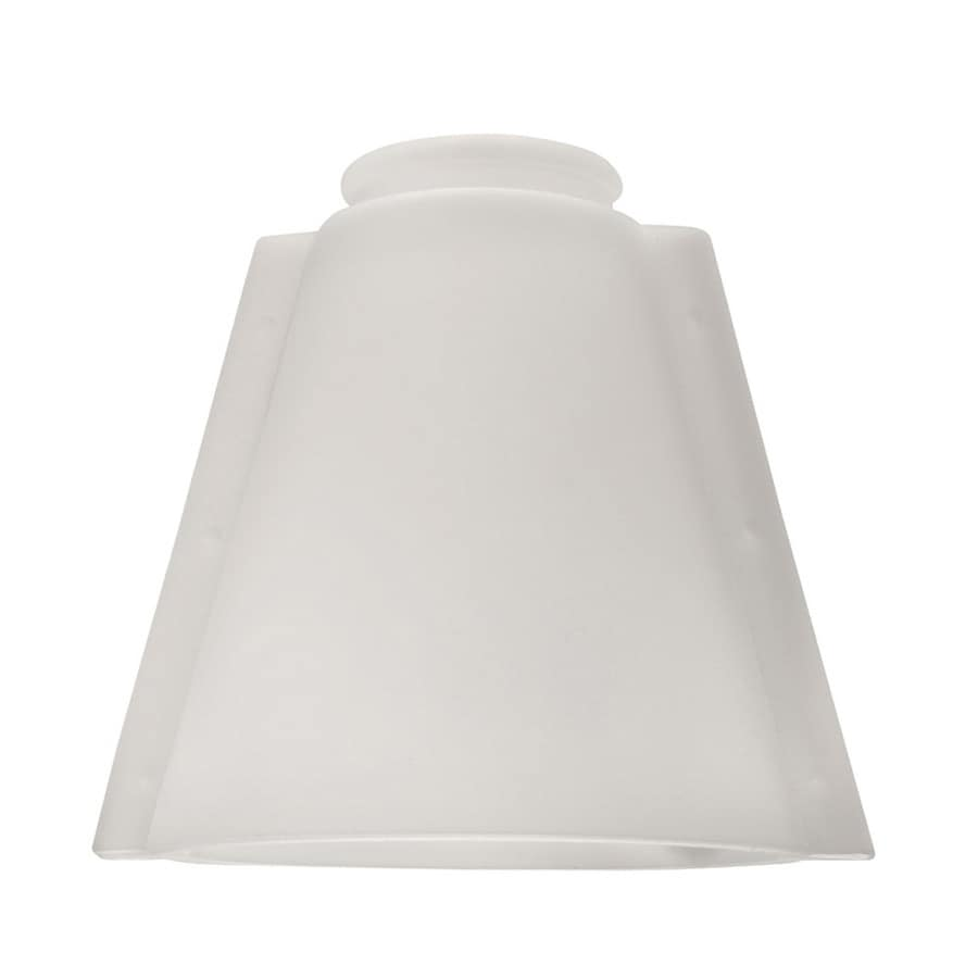 Harbor Breeze 5-in Frosted Vanity Light Glass