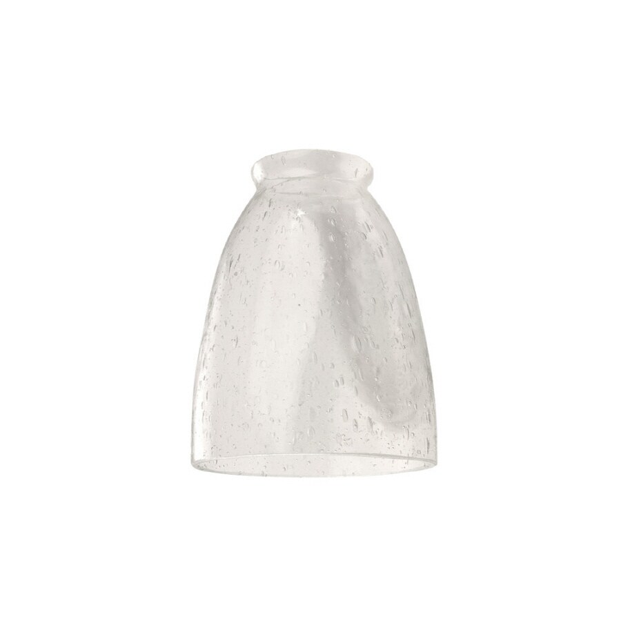 Litex H W Clear Seeded Ceiling Fan Light Shade