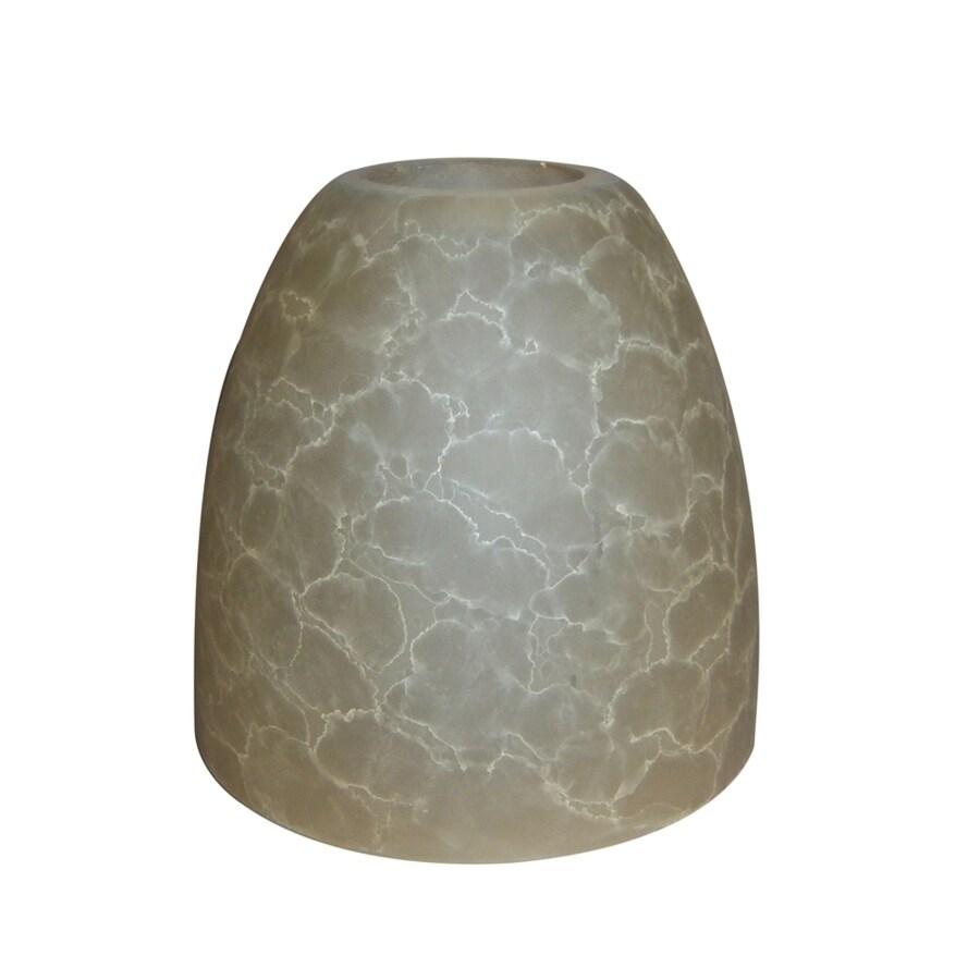 Portfolio 5-in H 5.1-in W Amber  Bell Vanity Light Shade