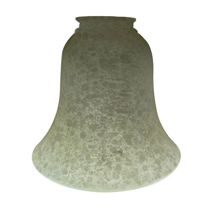 Portfolio 5-3/4-in Beige White Vanity Light Glass