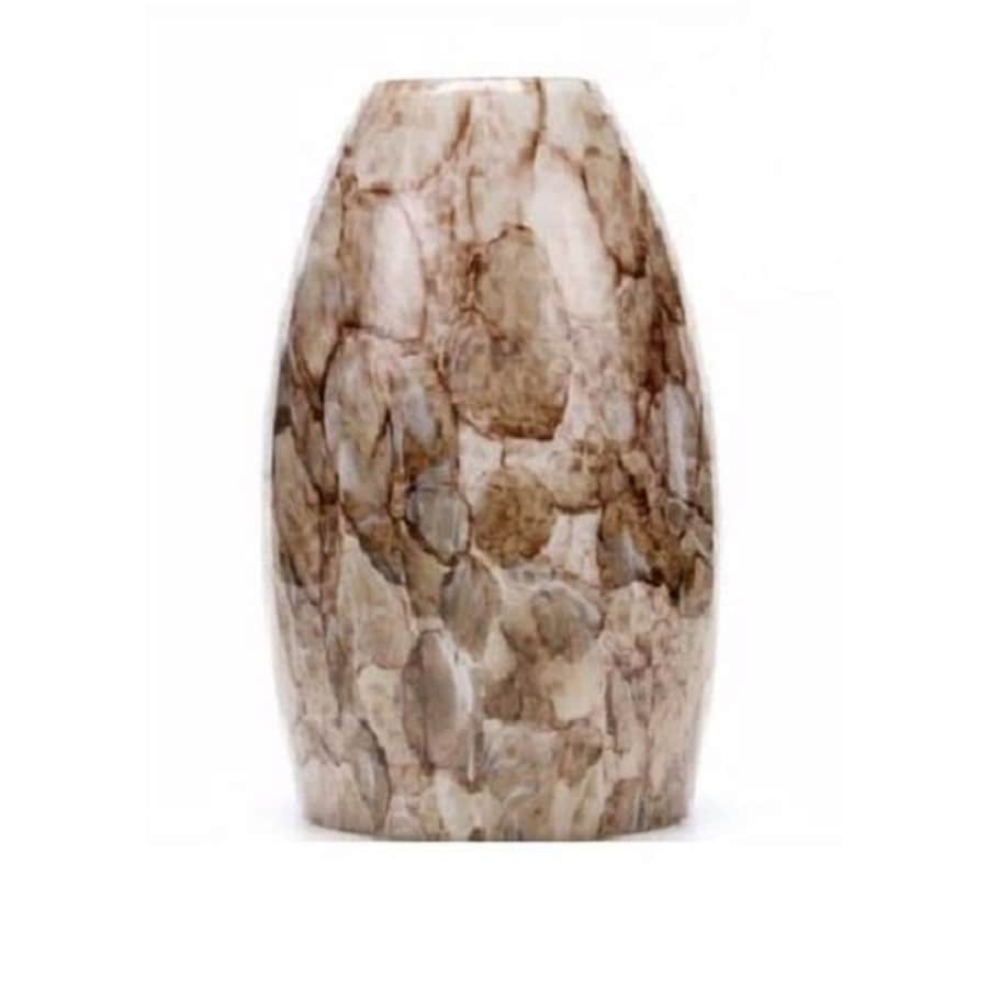 Portfolio 7.62-in H 4.62-in W River Stone Pendant Light Shade