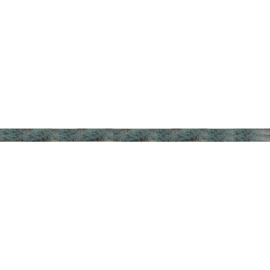 Harbor Breeze 12-in Etched Verde Downrod
