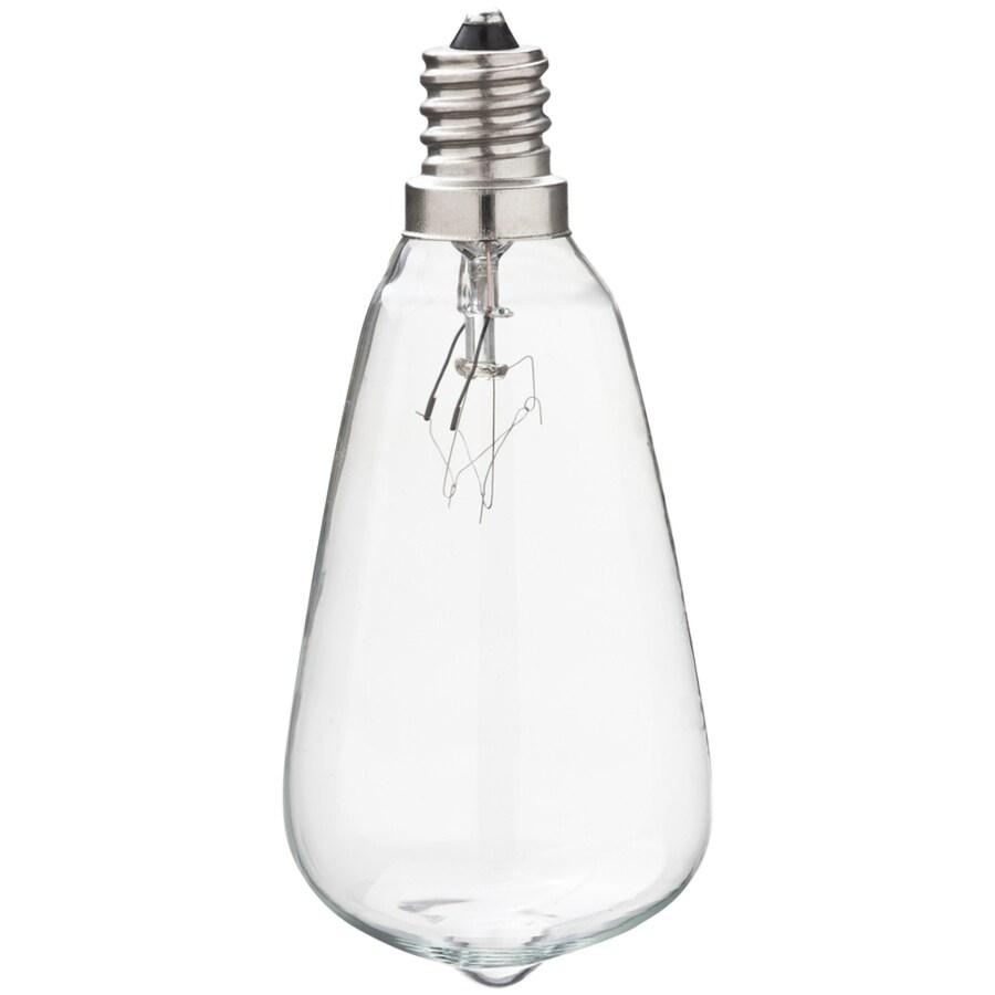Litex Indoor/Outdoor White Incandescent Edison String Light Bulbs