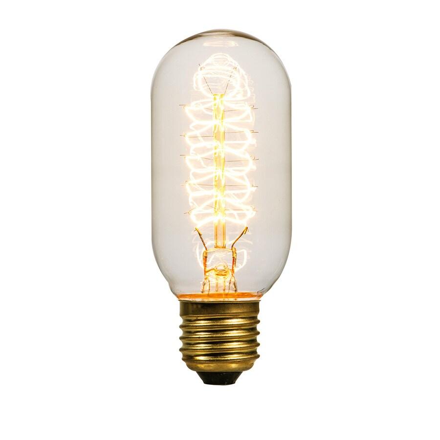 Litex Vintage 40-Watt Medium Base (E-26) Base Warm White Dimmable Indoor Decorative Incandescent Light Bulb