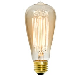 led vintage light bulbs antique edison style led st18 bulb antique. Black Bedroom Furniture Sets. Home Design Ideas