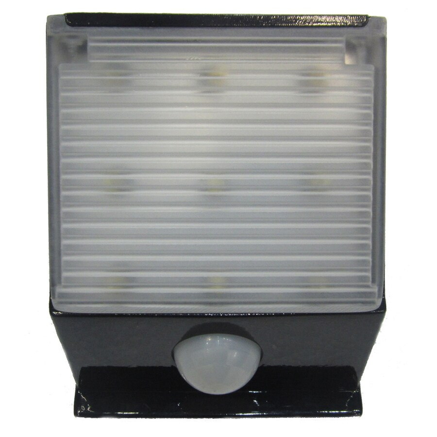 Portfolio Standard 0.5-Watt Line Voltage Solar LED Step Light with Motion Sensor