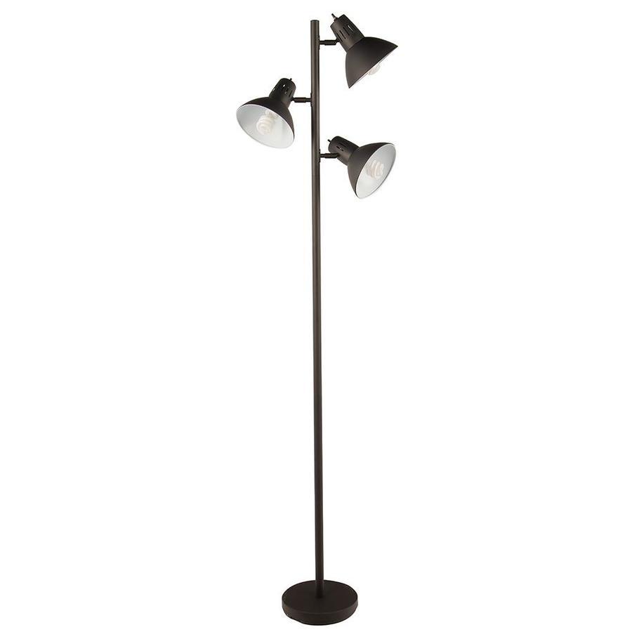 allen + roth Embleton 68-in Bronze Indoor Floor Lamp with Metal Shade