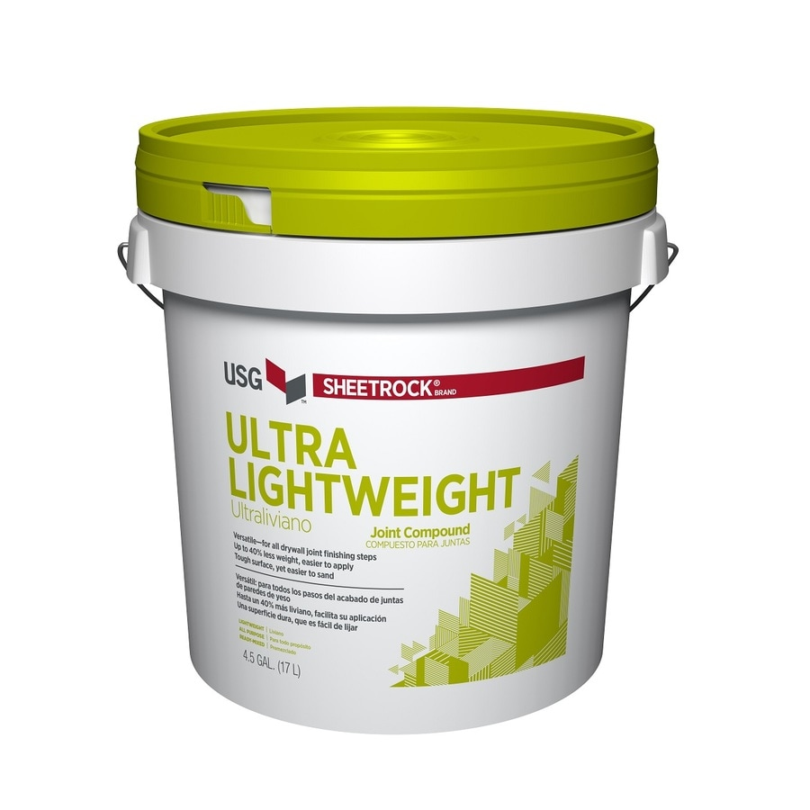 SHEETROCK Brand 4.5-Gallon Premixed Lightweight Drywall Joint Compound
