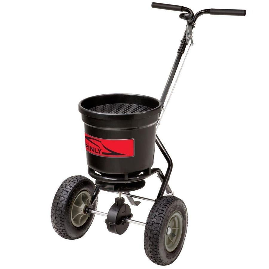 Brinly 50-lb Capacity Tow-Behind Lawn Spreader