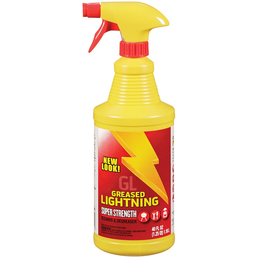 Shop Greased Lightning 40 Oz Lemon All Purpose Cleaner At