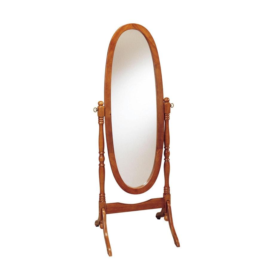 Powell 22.5-in x 59.25-in Oval Floor Mirror
