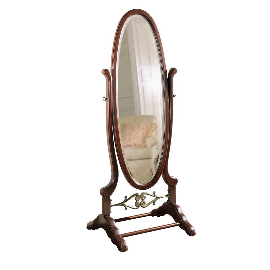 Powell 25.25-in x 63-in Oval Floor Mirror