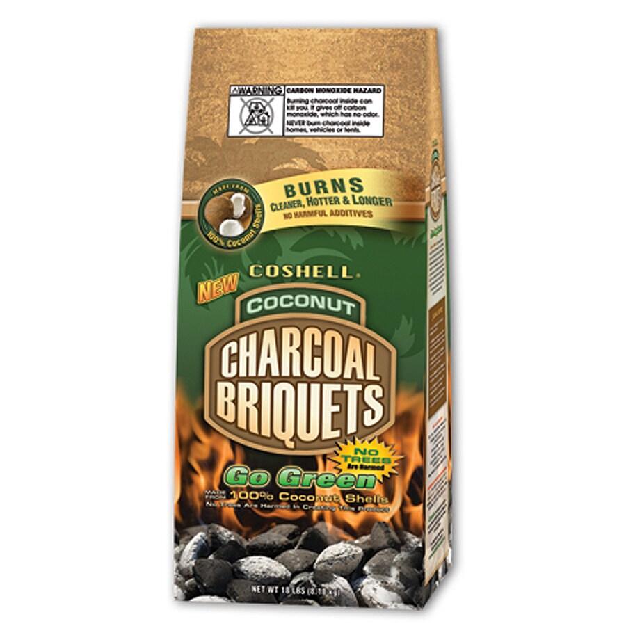 COSHELL 18-lbs Charcoal Briquettes
