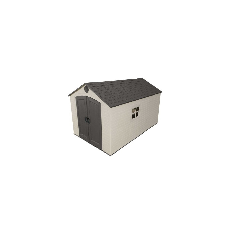 Gable Storage Shed (Common: 8-ft x 12.5-ft; Actual Interior Dimensions: 7.5-ft x 12-ft) Product Photo