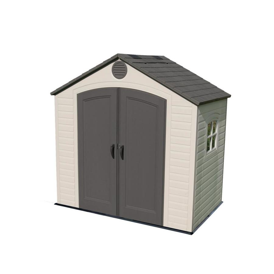 Gable Storage Shed (Common: 8-ft x 5-ft; Actual Interior Dimensions: 7.5-ft x 4.5-ft) Product Photo