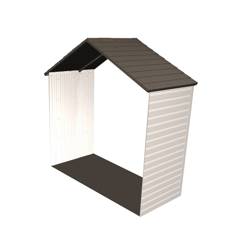 Shop lifetime products 8 ft x 2 1 2 ft resin storage shed for Garden shed 2 x 2