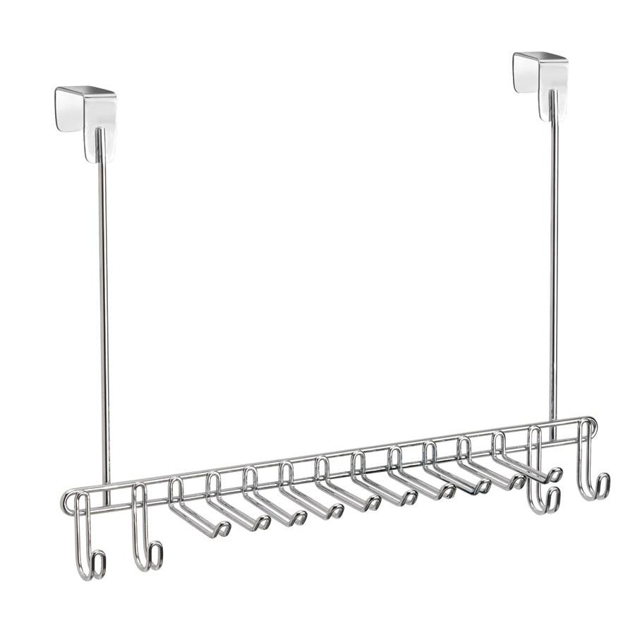 interDesign Chrome Classico Tie/Belt Rack