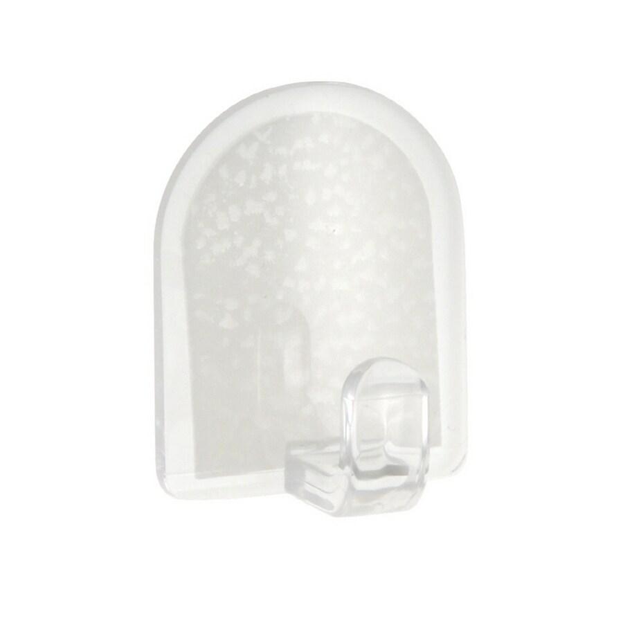 interDesign 6-Pack Plastic Adhesive Hooks