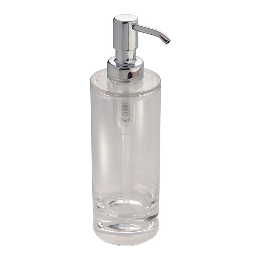 interDesign Clear Soap/Lotion Dispenser