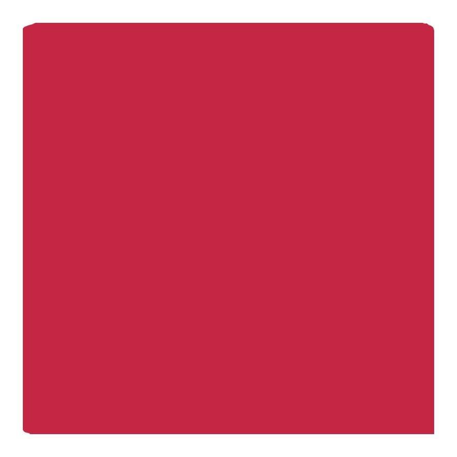 American Olean Bright Ruby Red Gloss Ceramic Bullnose Corner Tile (Common: 4-in x 4-in; Actual: 4.25-in x 4.25-in)