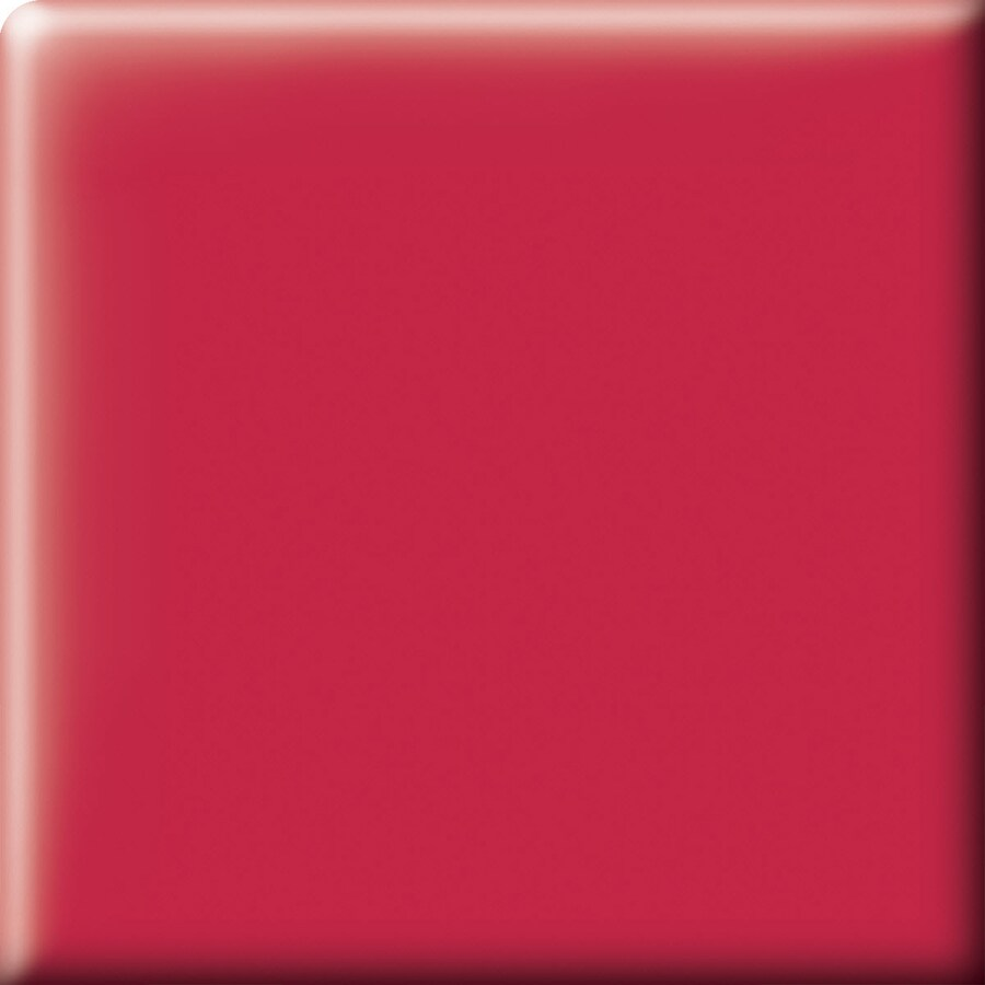 American Olean Bright Ruby Red Ceramic Bullnose Corner Tile (Common: 2-in x 2-in; Actual: 2-in x 2-in)