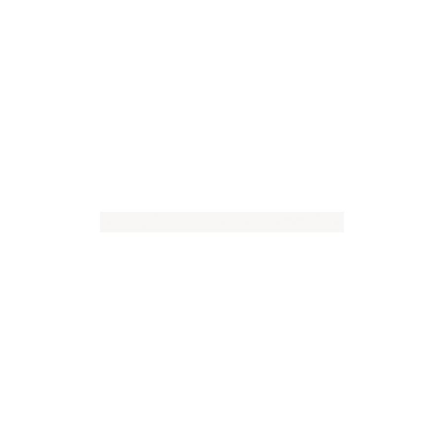 American Olean Bright Ice White Ceramic Quarter Round Tile (Common: -in x 6-in; Actual: 0.75-in x 6-in)