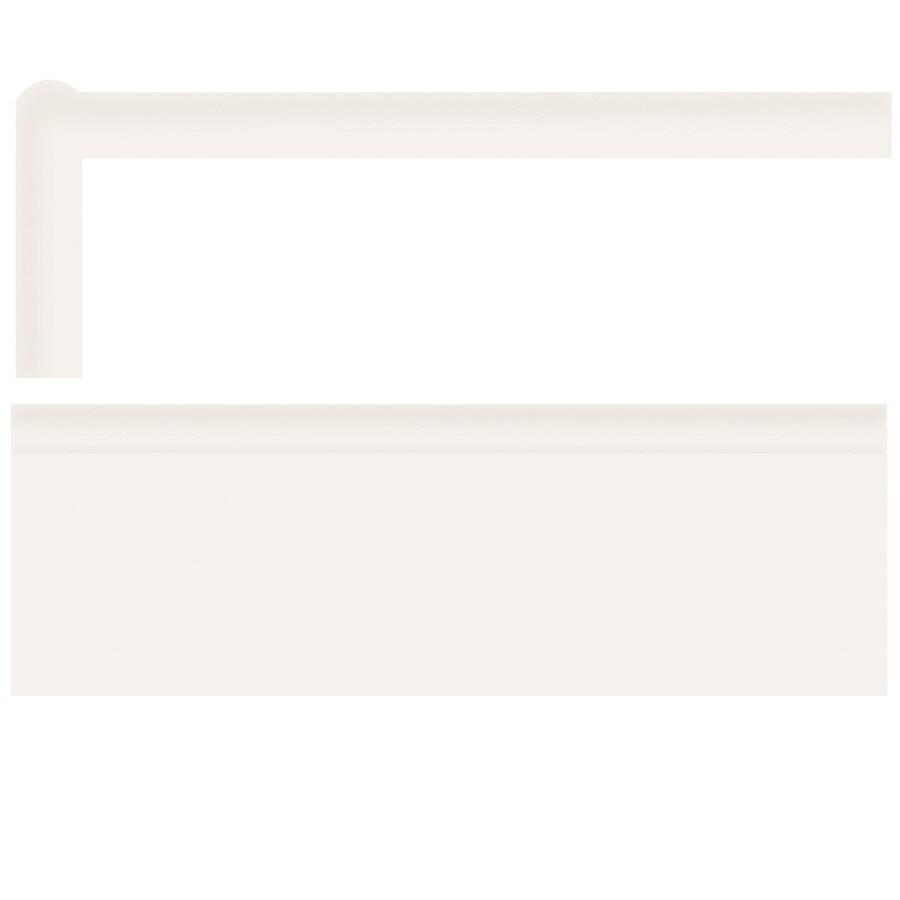 American Olean Bright Ice White Gloss Ceramic Mud Cap Tile (Common: 2-in x 6-in; Actual: 2-in x 6-in)