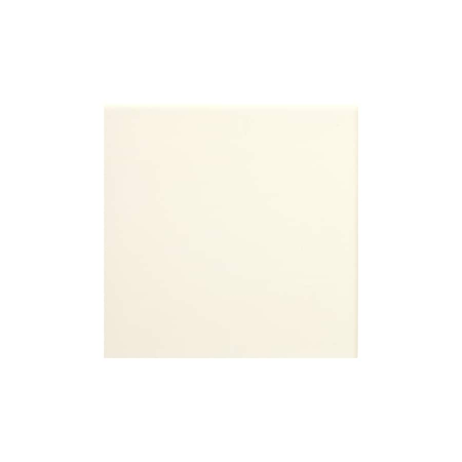 American Olean Starting Line Biscuit Gloss Ceramic Wall Tile (Common: 4-in x 4-in; Actual: 4.25-in x 4.25-in)