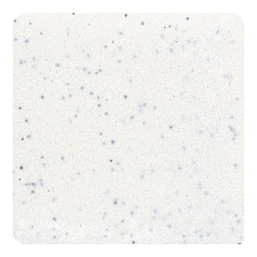 American Olean Bright Salt & Pepper Gloss Ceramic Bullnose Corner Tile (Common: 6-in x 6-in; Actual: 6-in x 6-in)