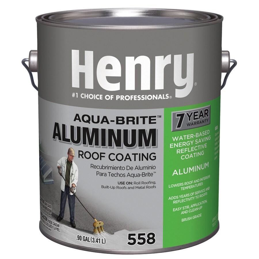 Henry Company Aqua-Brite 0.9-Gallon Aluminum Reflective Roof Coating (7-Year Limited Warranty)