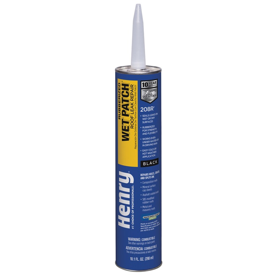 Henry Company Rubberized Wet Patch 10-fl oz Waterproofer Elastomeric Cement Roof Sealant