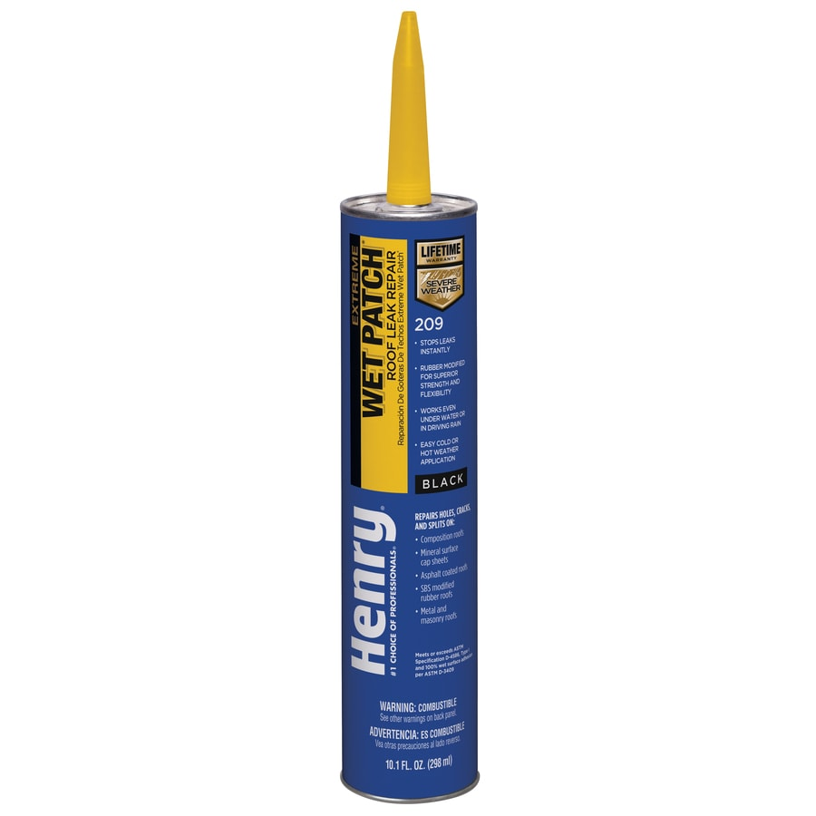 Henry Company Extreme Wet Patch 10-fl oz Waterproofer Elastomeric Cement Roof Sealant