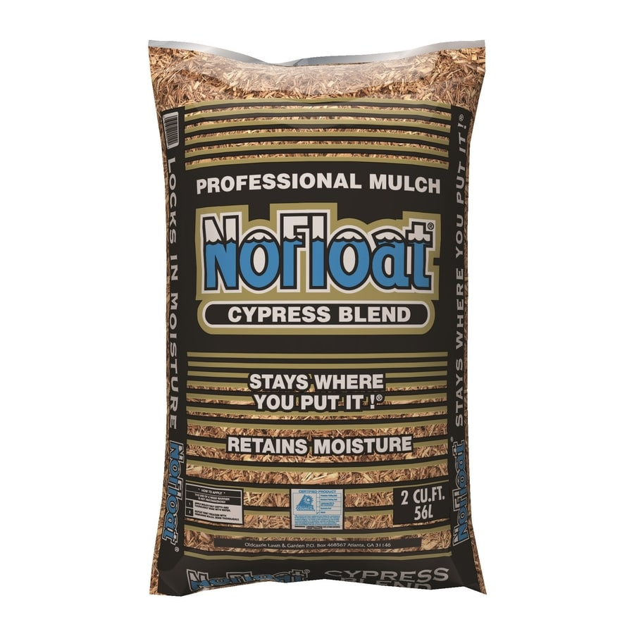 Oldcastle 2-cu ft Light Brown/Gold Shredded 100% Cypress Mulch