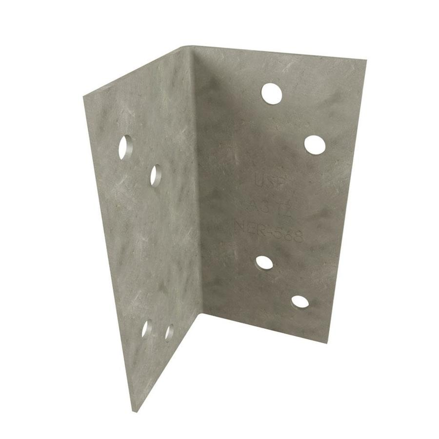 USP 1-7/16-in 1-7/16-in x 2-3/4-in Triple Zinc Framing Angle