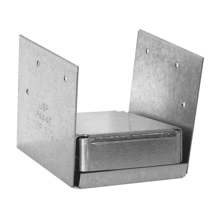 USP Steel G185 Post Base (Common: 4-in; Actual: 3.5625-in)