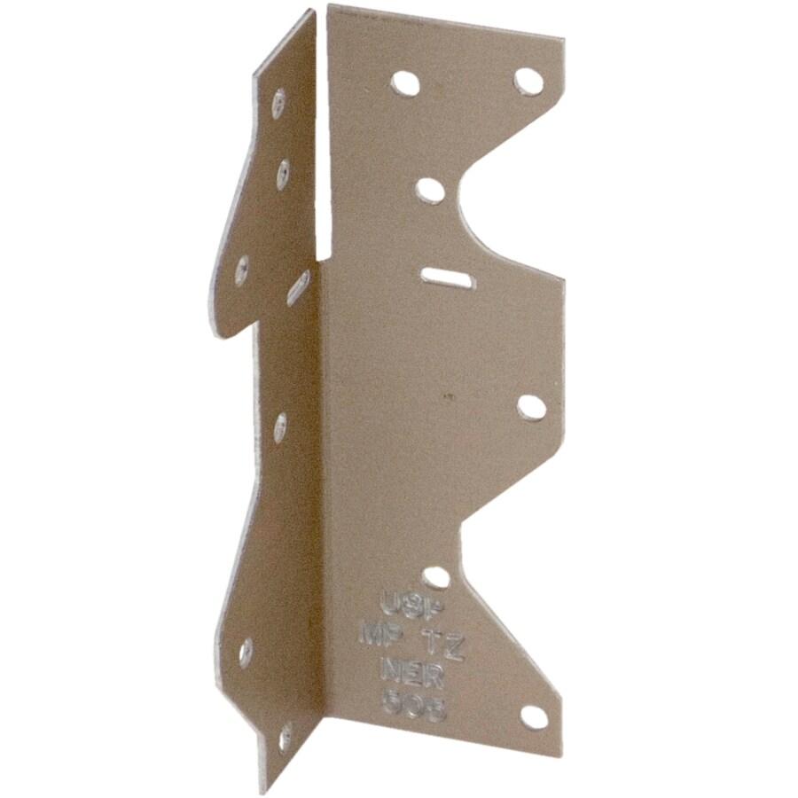 USP 1-1/2-in x 1-7/16-in x 4-1/2-in Gold Coat Framing Angle