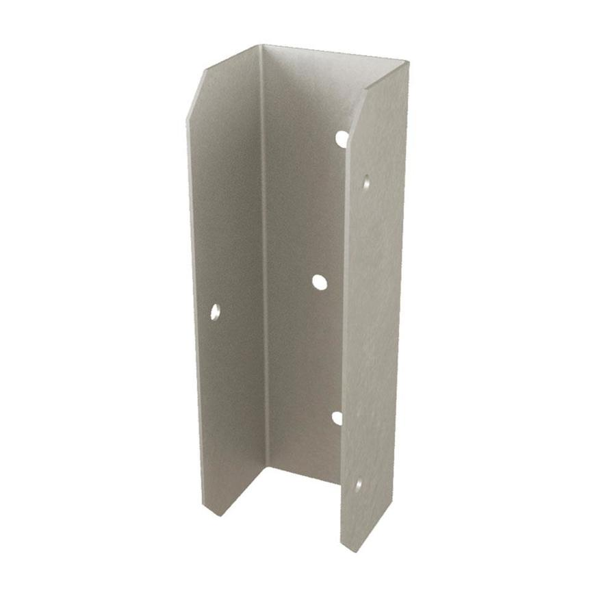 USP Fence Bracket 2-in x 6-in Triple Zinc
