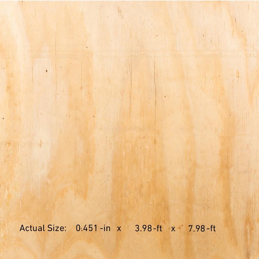 Plytanium 15/32 x 4 x 8 Pine Sheathing Plywood