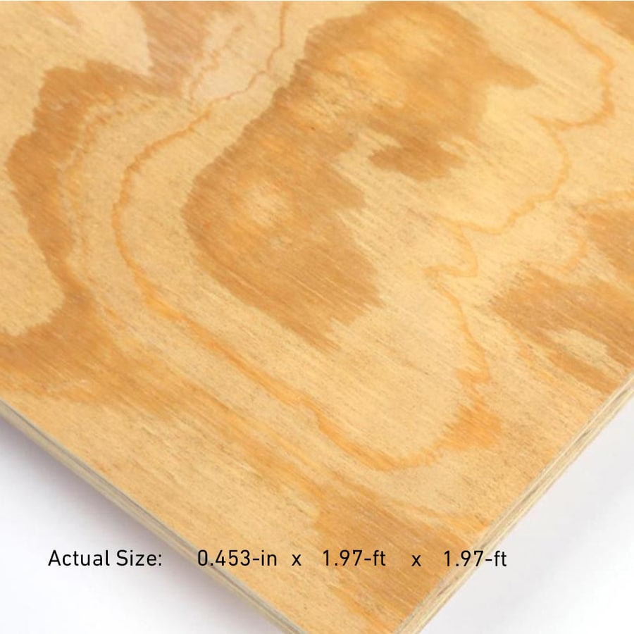 15/32-in Common Pine Sanded Plywood, Application as 2 x 2