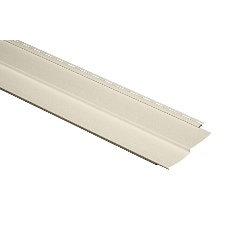 Georgia-Pacific Vision Pro 9.25-in x 120-in White Woodgrain Traditional Vinyl Siding Panel
