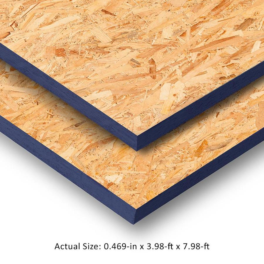 Blue Ribbon 1/2 x  4 x 8 OSB Sheathing