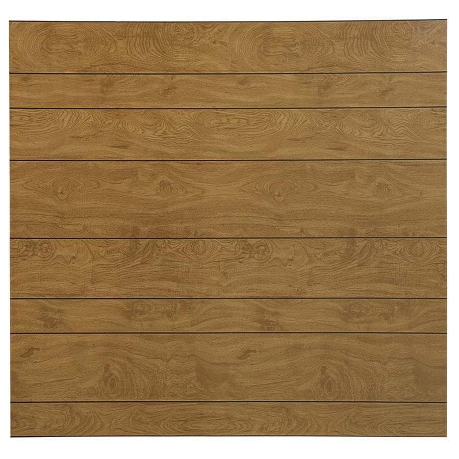 48-in x 8-ft Recessed Medium Brown MDF Wall Panel