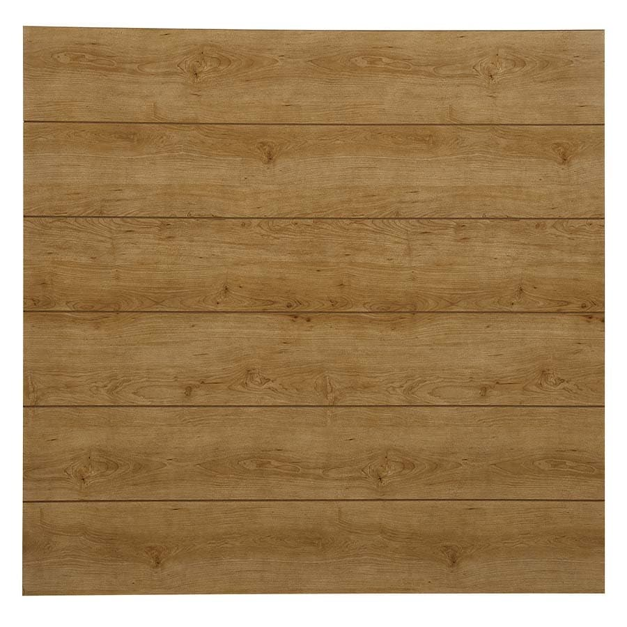 Georgia-Pacific 48-in x 8-ft Recessed Brown MDF Wall Panel