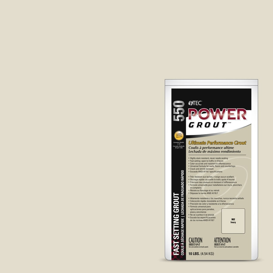 TEC Power 10-lb Ivory Sanded/Unsanded Powder Grout