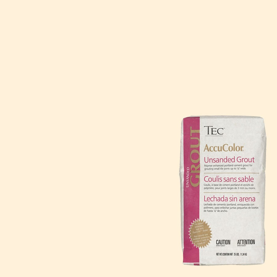 TEC Ivory Unsanded Powder Grout