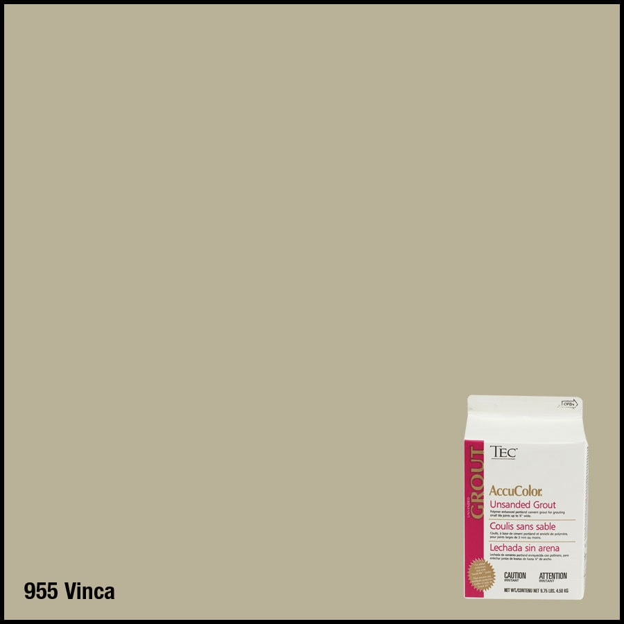 TEC 9-3/4 lbs Vinca Unsanded Powder Grout