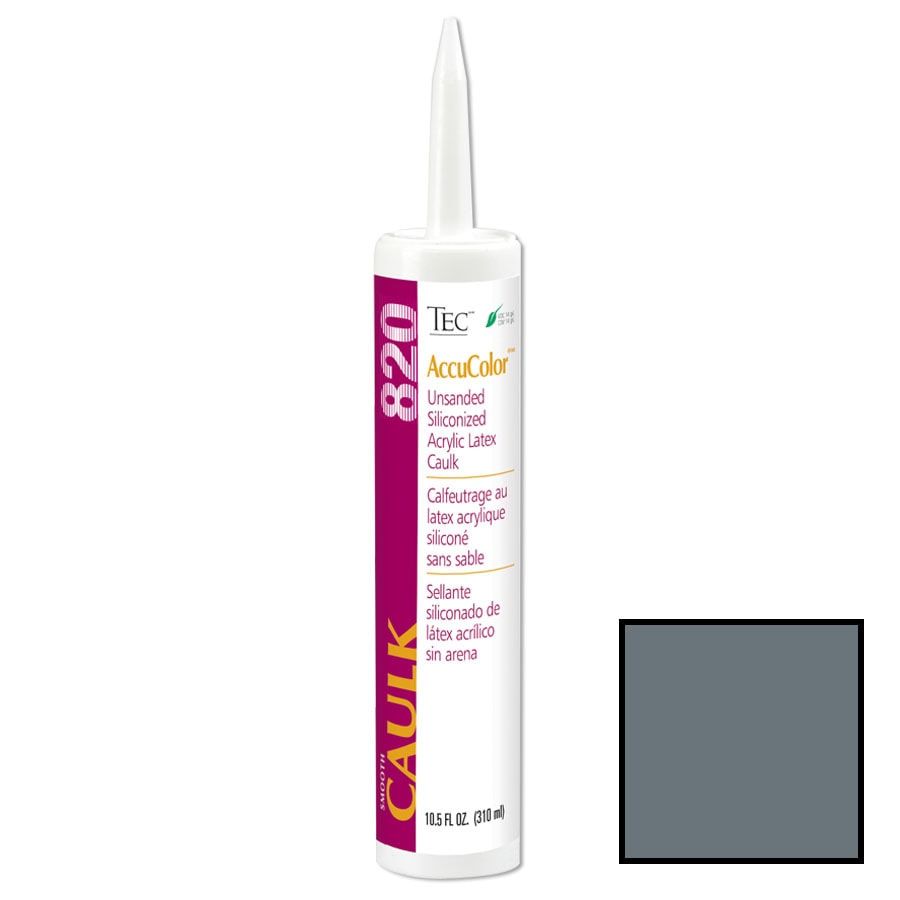 TEC Charcoal Gray Paintable Latex Specialty Caulk