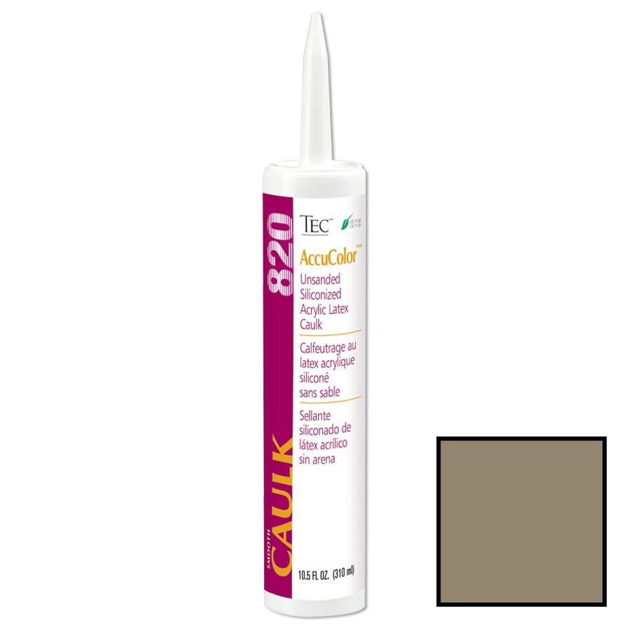 TEC Mocha Paintable Latex Specialty Caulk