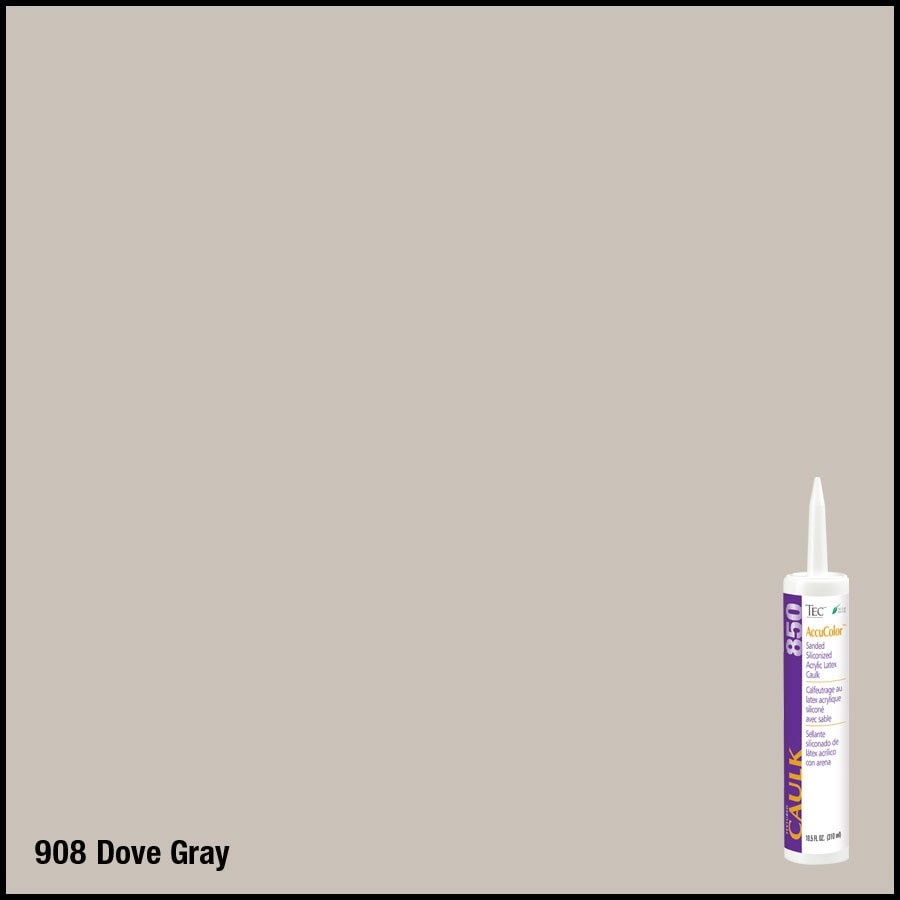 Shop Tec Dove Gray Sanded Paintable Latex Specialty Caulk